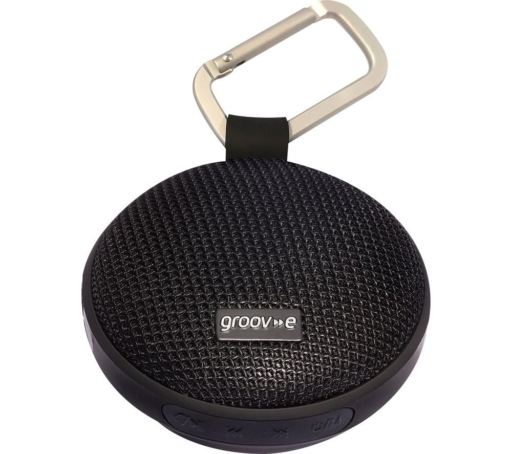 GROOV-E Wave I GVSP362BK Portable Bluetooth Speaker - Black
