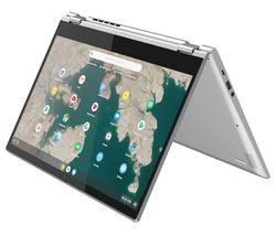 "LENOVO C340 15.6"" 2 in 1 Chromebook - Intel® Core™ i3, 64 GB eMMC, Grey"