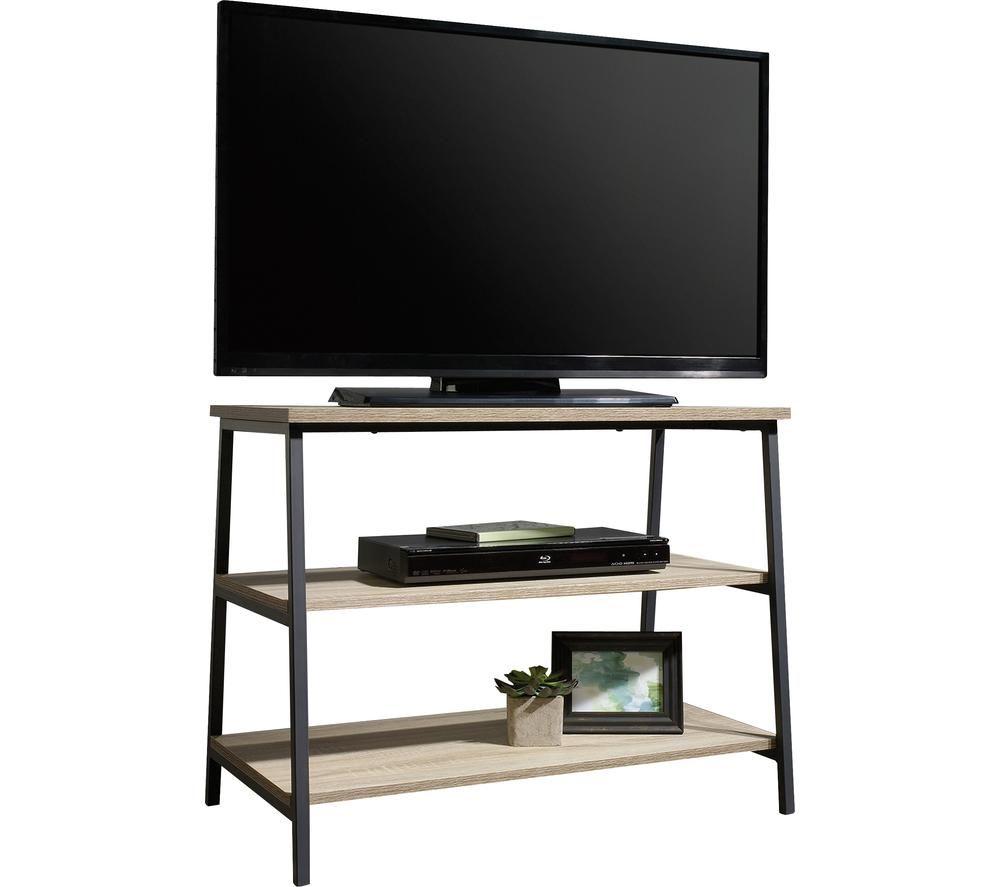 TEKNIK 5420034 800 mm TV Stand - Charter Oak, Black