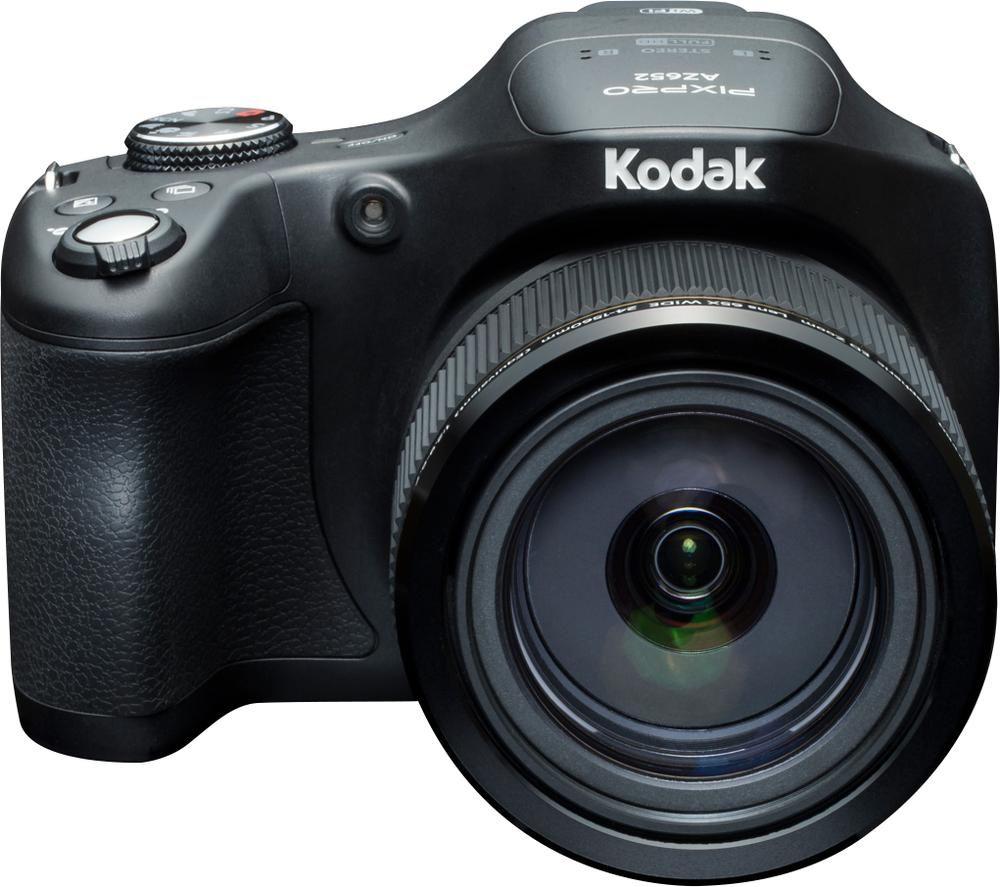 KODAK PIXPRO AZ652 Bridge Camera - Black