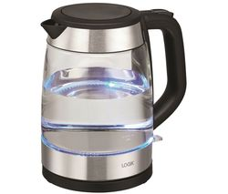 L17GKB20 Glass Jug Kettle - Black