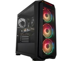 PC SPECIALIST Tornado R5 Gaming PC - AMD Ryzen 5, GTX 1660, 1 TB HDD & 256 GB SSD