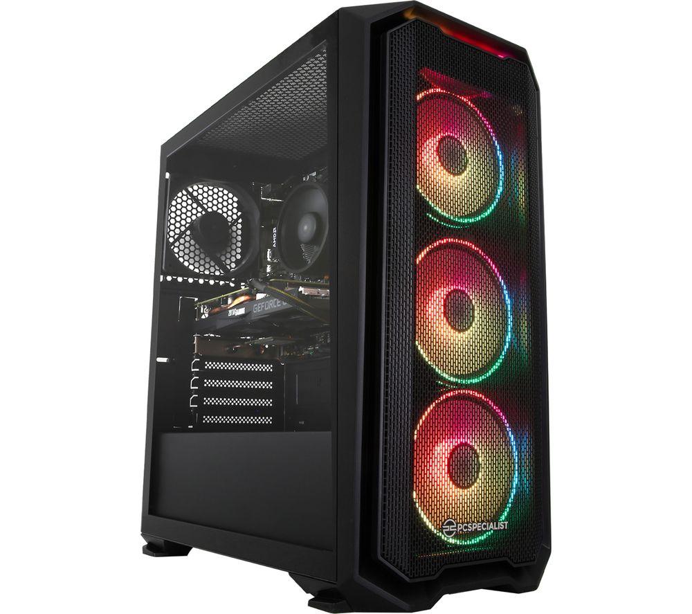 Image of PCSPECIALIST Tornado R5 Gaming PC - AMD Ryzen 5, GTX 1660, 1 TB HDD & 256 GB SSD