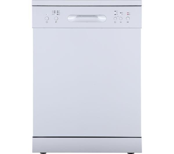 ESSENTIALS CUE CDW60W20 Full-size Dishwasher - White
