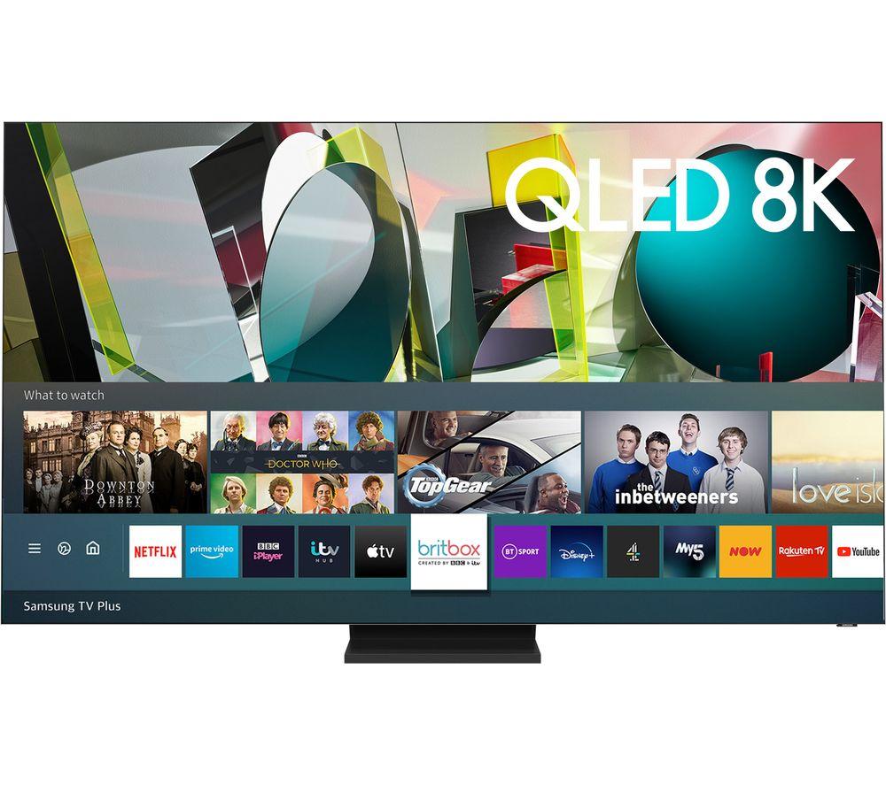 "SAMSUNG QE75Q900TSTXXU 75"" Smart 8K HDR QLED TV with Bixby, Alexa & Google Assistant"