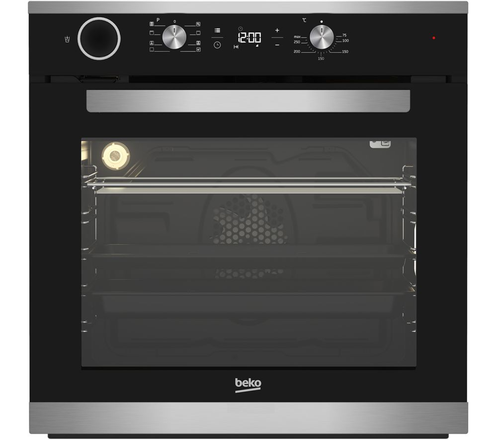 BEKO BIS25300XC Electric Steam Oven – Stainless Steel, Stainless Steel