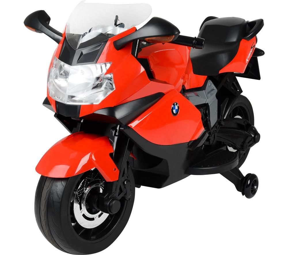 TOYRIFIC Vroom TY5838RD BMW Bike Electric Ride On Toy - Red