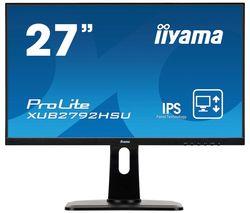 "ProLite XUB2792HSU-B1 Full HD 27"" IPS LCD Monitor - Black"