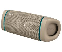 SONY SRS-XB33 Portable Bluetooth Speaker - Taupe