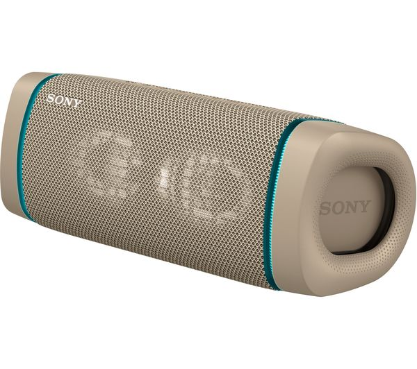 Image of SONY SRS-XB33 Portable Bluetooth Speaker - Taupe