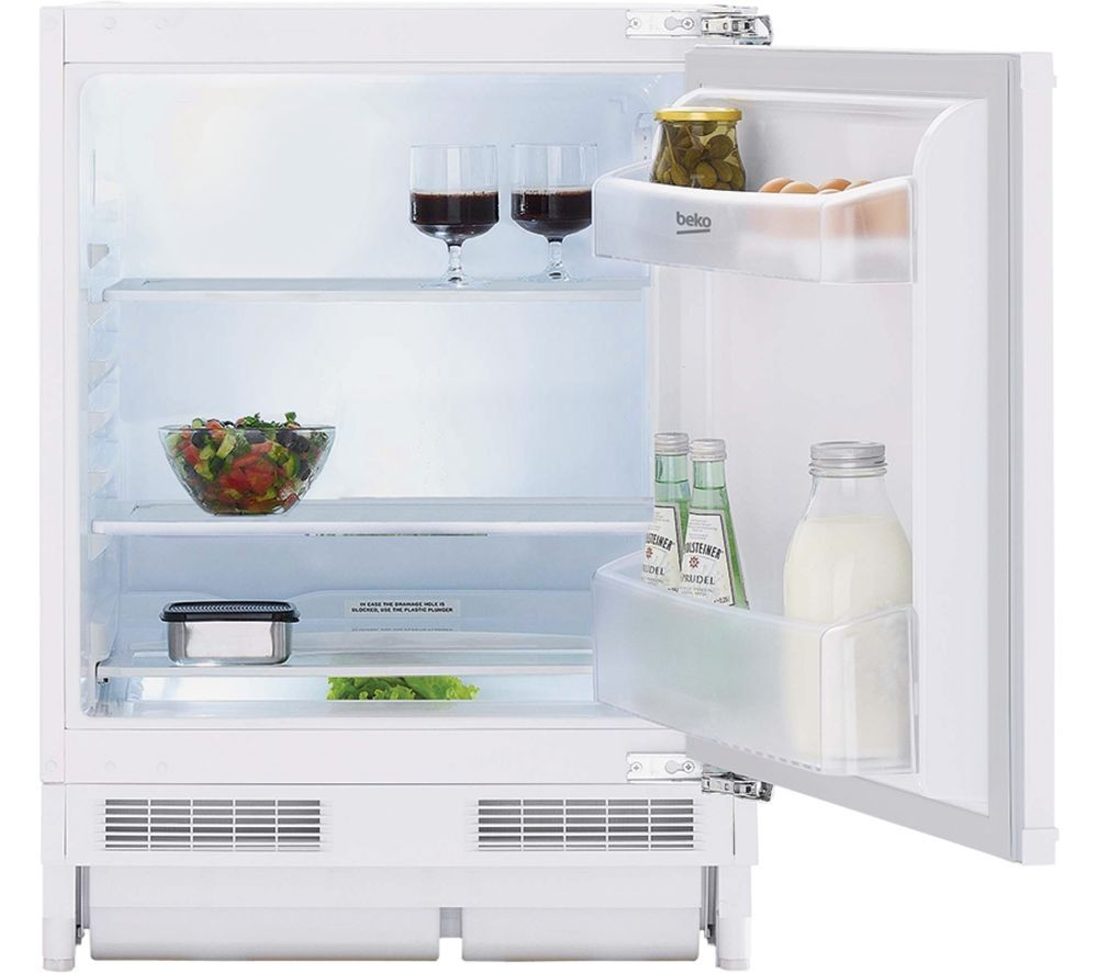Image of BEKO BLSF3682 Integrated Undercounter Fridge - Fixed Hinge