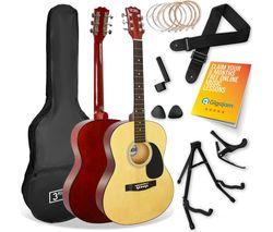 STX10 Acoustic Guitar Premium Bundle - Natural