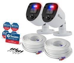 Enforcer SWPRO-1080SLPK2-EU Full HD Add-On Security Cameras - 2 Cameras