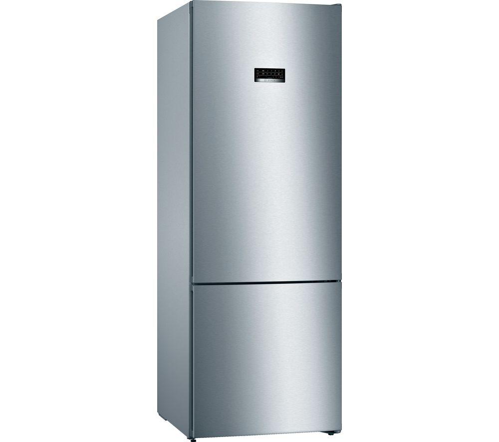 BOSCH Serie 4 KGN56XLEA 80/20 Fridge Freezer - Inox