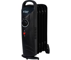 RHOFR3001 Portable Oil-Filled Radiator - Black