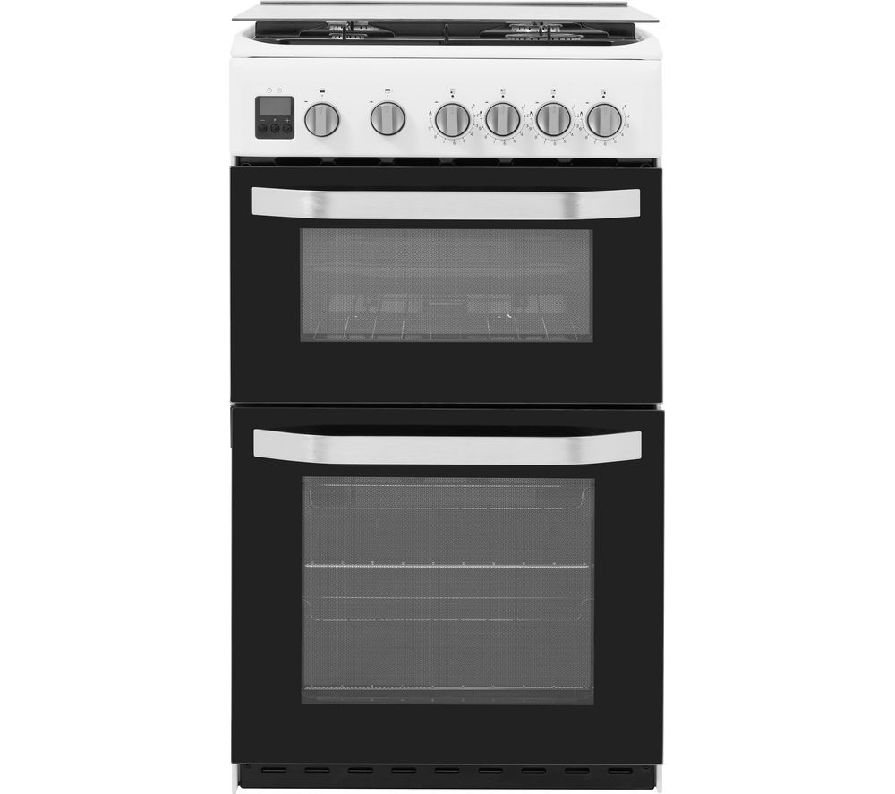 HOTPOINT HD5G00CCW/UK 50 cm Gas Cooker - White