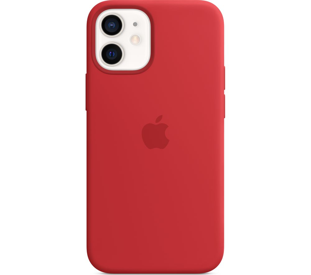 APPLE iPhone 12 mini Silicone Case with MagSafe - (PRODUCT)RED, Red
