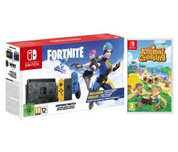 Switch Fortnite Special Edition & Animal Crossing: New Horizons Bundle