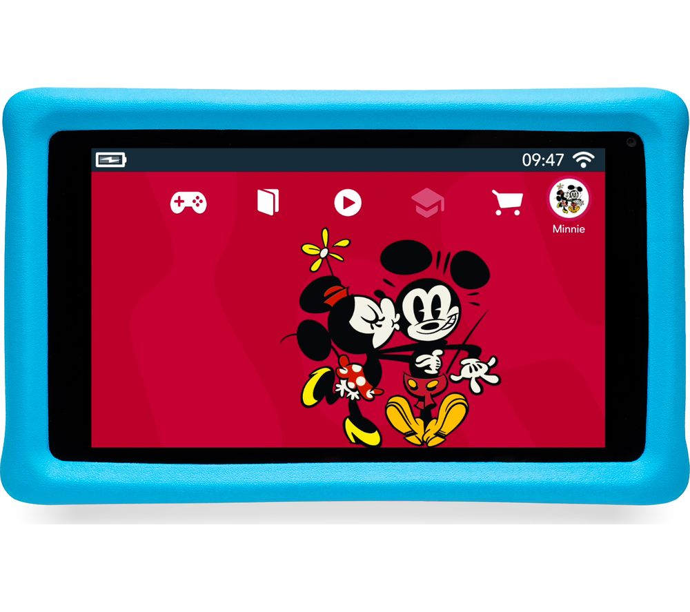 "PEBBLE GEAR Disney Mickey & Friends 7"" Kids Tablet - 16 GB"