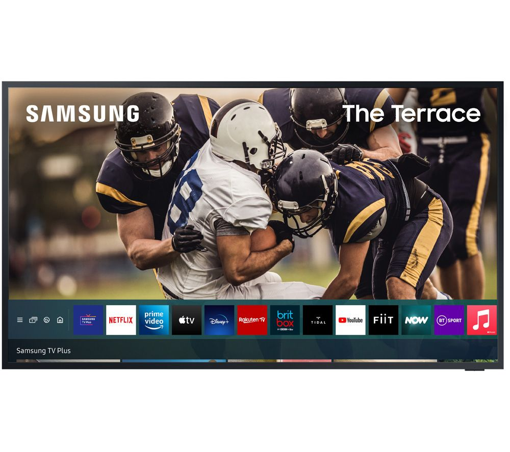 """SAMSUNG The Terrace QE75LST7TAUXXU 75"""" Smart 4K Ultra HD HDR QLED Outdoor TV with Bixby & Google Assistant"""