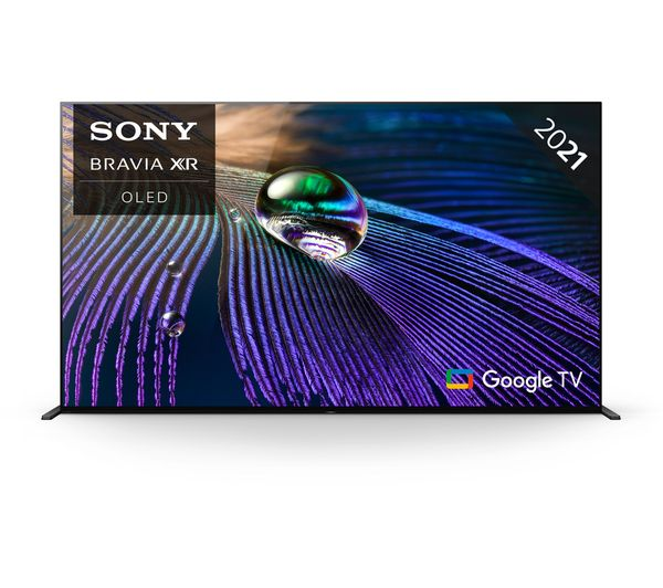 """SONY BRAVIA XR55A90JU 55"""" Smart 4K Ultra HD HDR OLED TV with Google TV & Assistant"""