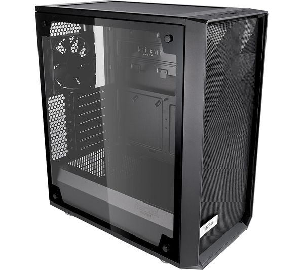 Image of FRACTAL DESIGN Meshify C ATX Mid Tower PC Case - Black, Light Tinted Glass