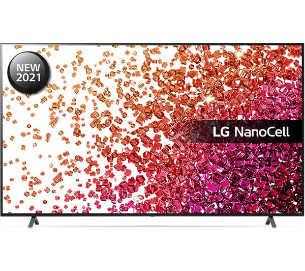 "LG 75NANO756PA 75"" Smart 4K Ultra HD HDR LED TV with Google Assistant & Amazon Alexa"