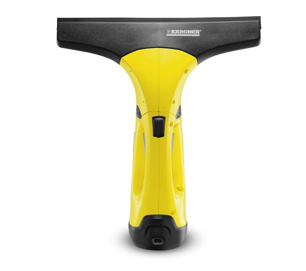 KARCHER WV 2 Window Vacuum Cleaner - Yellow & Black, Yellow