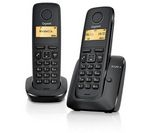 GIGASET A120 Cordless Phone - Twin Handsets