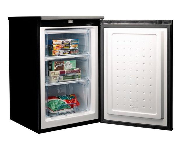 Buy Logik Luf55b13 Undercounter Freezer Black Free