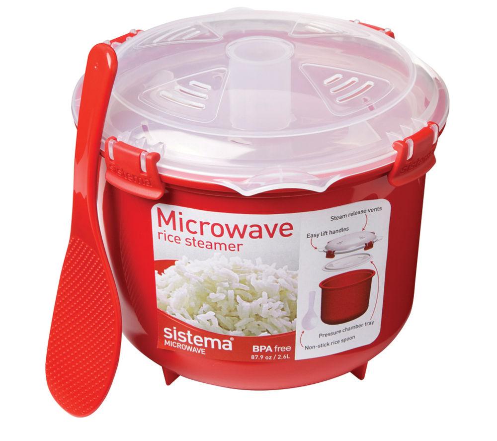 SISTEMA Round 2.6-litre Rice Steamer