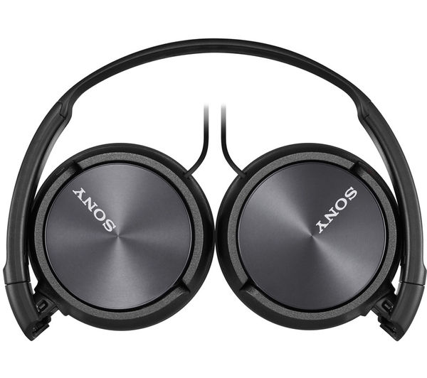 8dcb2ce1981 SONY MDR-ZX310APB Headphones - Black + iPhone 7 Lightning to 3.5 mm  Headphone Jack