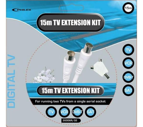 Buy PHILEX SLx Television Extension Kit – 15 m | Free Delivery | Currys