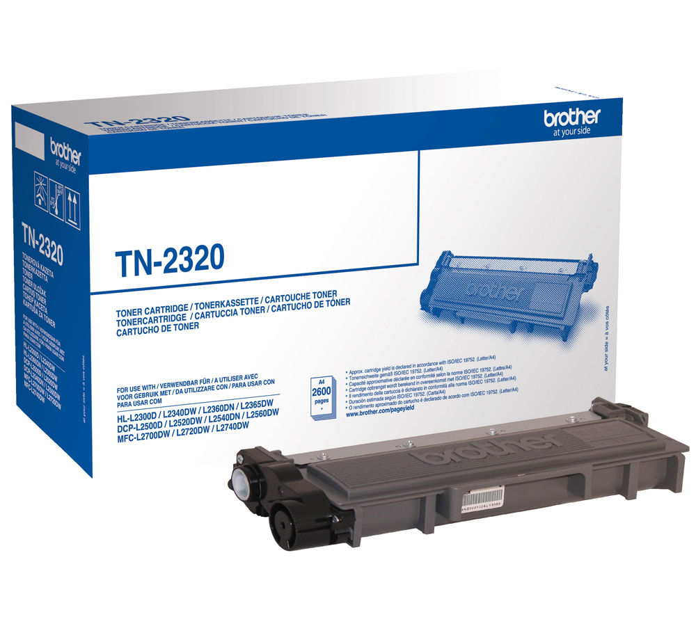 BROTHER TN2320 Black Toner Cartridge