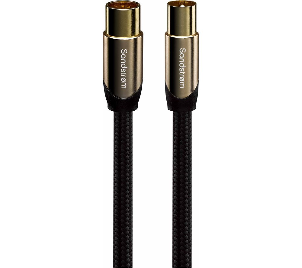 Compare prices for Sandstrom AV Gold Series S2AER315 Aerial Cable 2m