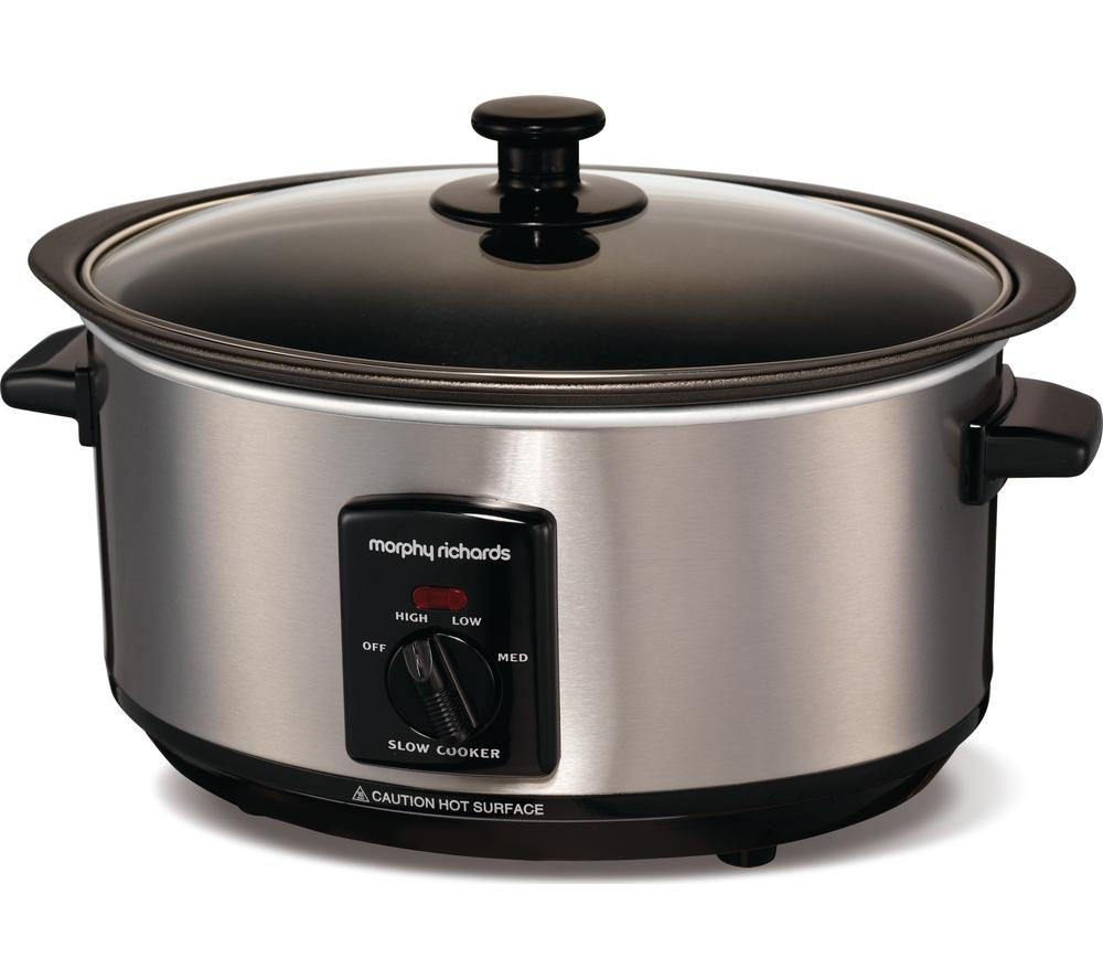 buy morphy richards sear and stew 48701 slow cooker. Black Bedroom Furniture Sets. Home Design Ideas