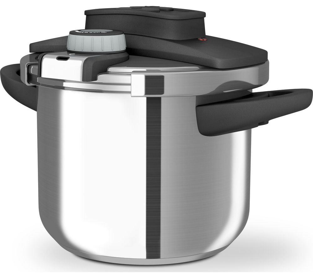 MORPHY RICHARDS 977000 6 litre Pressure Cooker - Stainless Steel