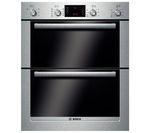 BOSCH Serie 6 HBN53R550B Electric Built-under Double Oven - Stainless Steel
