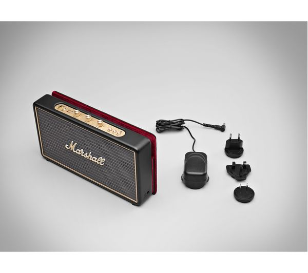 buy marshall stockwell portable bluetooth wireless speaker with flip