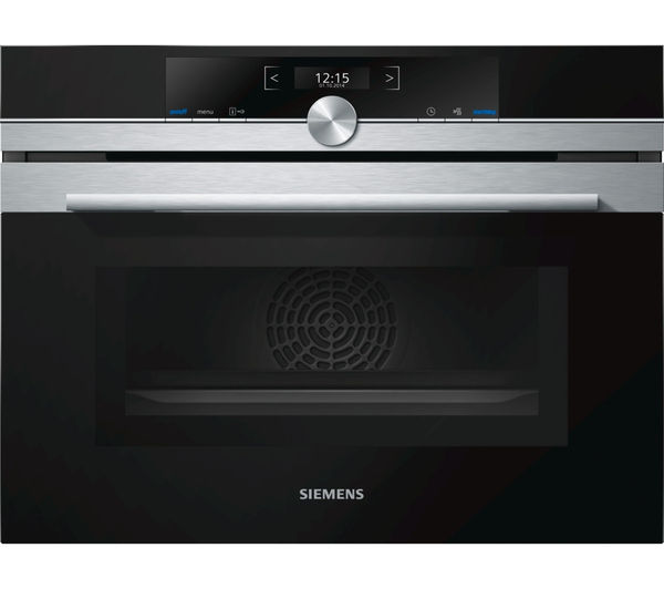 Image of SIEMENS CM633GBS1B Combination Microwave - Stainless Steel