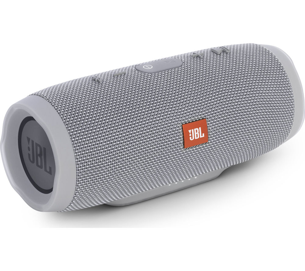 buy jbl charge 3 portable bluetooth wireless speaker grey free delivery currys. Black Bedroom Furniture Sets. Home Design Ideas