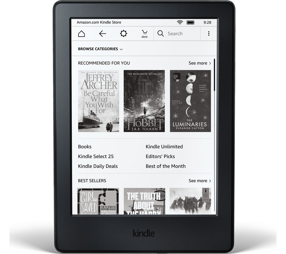 AMAZON Kindle Touch eReader 2016 - Black