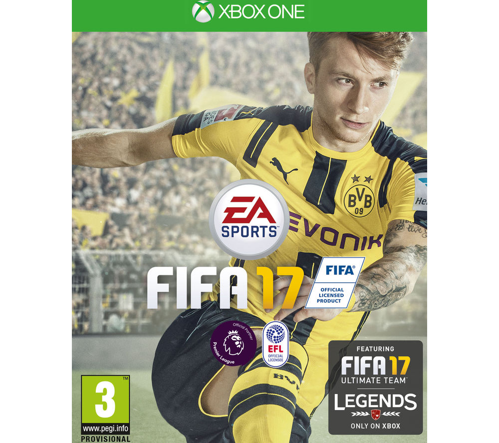 Image of XBOX ONE FIFA 17