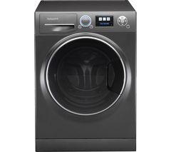HOTPOINT Ultima S-Line+ RZ1066B Washing Machine - Black