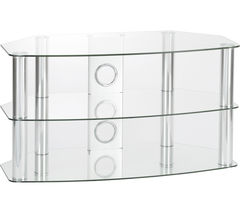 TTAP Vantage 600 TV Stand - Chrome