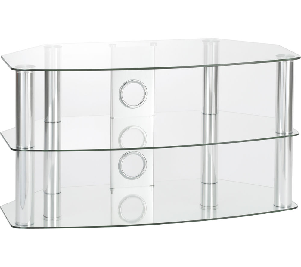 TTAP Vantage 600 TV Stand - Chrome