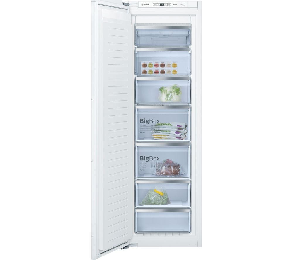 BOSCH GIN81AE30G Integrated Tall Freezer