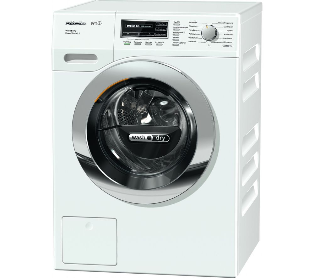 MIELE WTF130 Washer Dryer - White