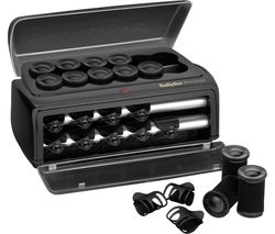 BABYLISS Boutique Salon Ceramic Rollers - Black