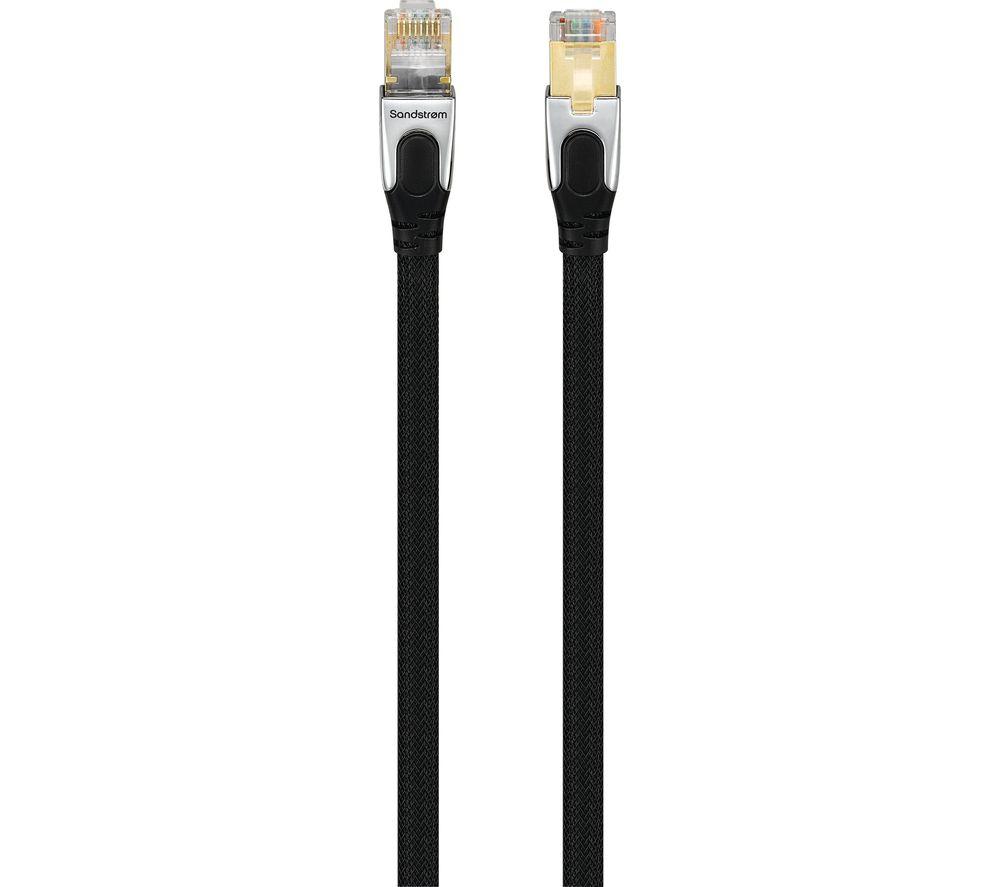 buy sandstrom scat61017 cat6 gigabit ethernet cable 10 m. Black Bedroom Furniture Sets. Home Design Ideas